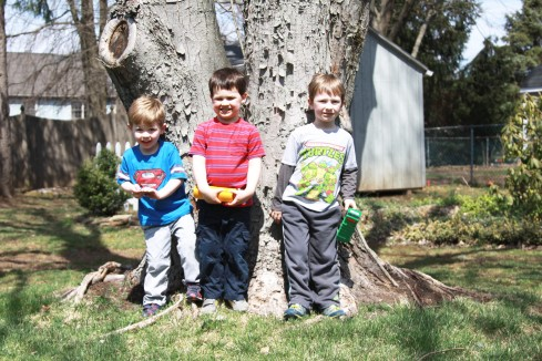 boys at 4