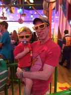 Toy Story Midway Mania - a family favorite.