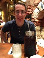 """Daddy's drink at Wilderness Lodge; he fondly referred to it as """"Diabetes in a cup"""""""